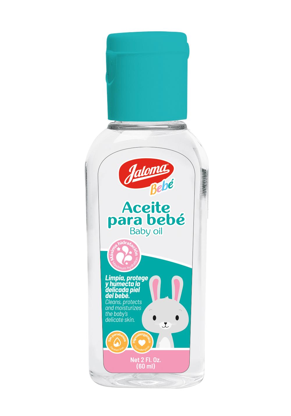 Aceite para bebé, frasco 60 ml