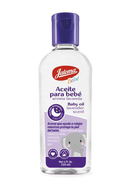Aceite para bebé aroma lavanda 120 ml