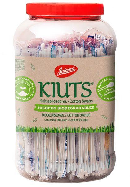 Kiuts vitrolero, con 50 bolsas de 20 piezas cada una