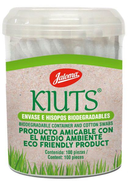 Kiuts Biodegradables tarro, 100 piezas