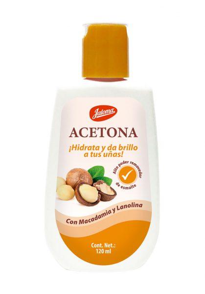 Acetona con Aceite de Macadamia y Lanolina, 120 ml