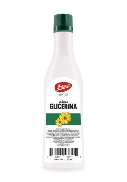 Glicerina clásica 120 ml.