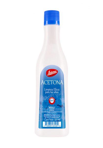 Acetona, 120 ml.